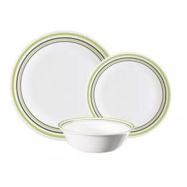Corelle 12 piece Geometric Dinner Set