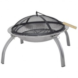 Sunncamp Portable Fire Pit with Fold Away Legs
