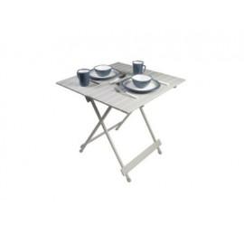 Leaf 70cm Medium Alloy Slat Folding Camping Table