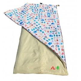 52oz Single Sleeping Bag Beige - Berrow Hill