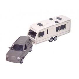 Quest Toy Car With Caravan