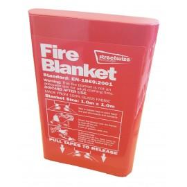 Streetwise Fire Blanket 1m x 1m