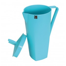 Cuisine Viva Blue Picnic Jug with Lid