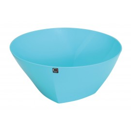 Large Blue Salad / Serving Bowl