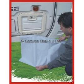 "Caravan Awning Draught Skirt - 20"" (500mm) - Grey"