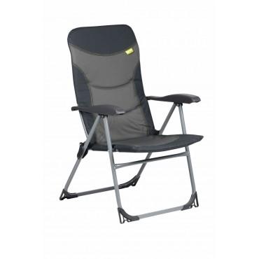 Kampa Skipper Reclining Camping Chair - Charcoal