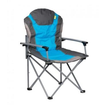 Kampa Guv'Nor Lightweight Folding Camping Chair - Blue