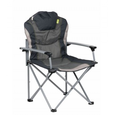 Kampa Guv'Nor Lightweight Folding Camping Chair - Charcole