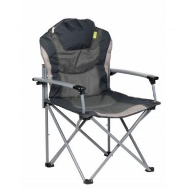 Kampa Guv'Nor Lightweight Folding Camping Chair - Charcole