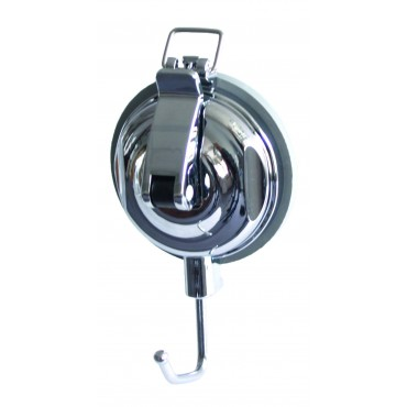 Camp4 Suction Hook with Safety Buckle - Chrome Effect