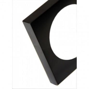 Caravan / Motorhome Berker Single Frame - Pure Design - Colour: Gloss Black