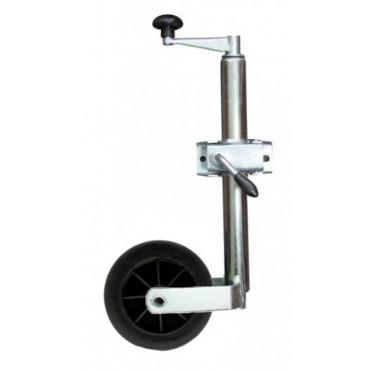 Caravan Trailer 34mm Light Duty Jockey Wheel & Clamp