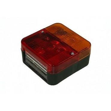 Caravan Trailer Rear Lamp Red/Indicator