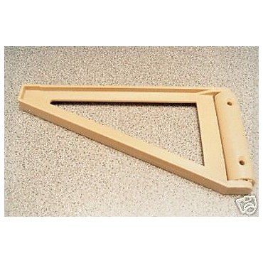 Caravan Beige Flap / Shelf Triangular 19cm Support