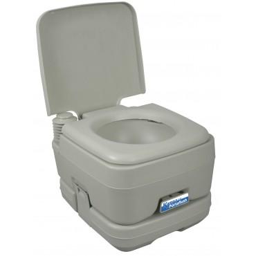 Kampa Portaflush 10 - Compact Caravan / Campervan Chemical Toilet