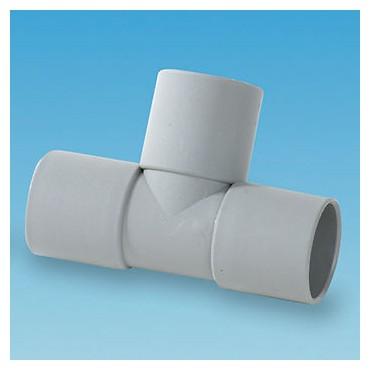 Caravan Motorhome 28mm Pipe Push Fit Tee Piece