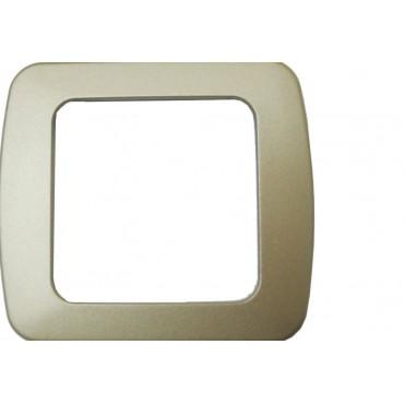 CBE Single Decor Frame Nickel Flatline